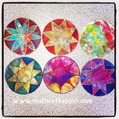 I was very inspired by a quilting pattern I saw on Instagram by @sandieloves2art  to create these round gelli plate prints.   In this one I...
