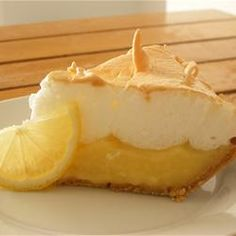 Bob Hope's Favorite Lemon Pie