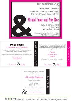Michael & Amy wedding invite Wedding Stationery, Wedding Invitations, Business Branding, Party Printables, Rsvp, Invite, Amy, Reception, Marriage