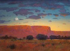 Red Mesa at Twilight - Tom Perkinson