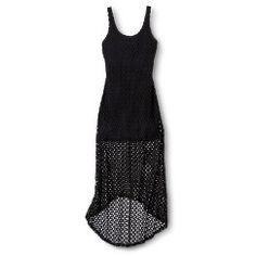 Crochet Maxi Dress Cream XL - Xhilaration® #Target #Coupon #Codes #Promocodes #Discounts #Deals #Offers