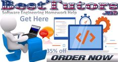 Software Engineering Homework Help – Best Tutors has carved a place for its services by doubt best and practical engineering homework help to the students.