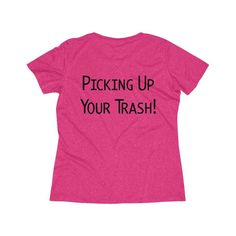 #Plogger Ladies Wicking Tee