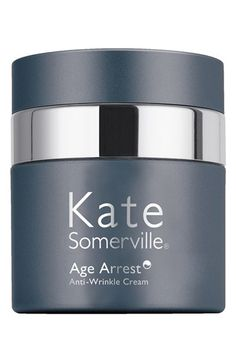 Kate Somerville® 'Age Arrest' Wrinkle Reducing Cream available at Nordstrom. Made specifically for sensitive skin, gives hydration, and will improve skin tone.