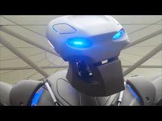 titan the robot tesco leicester oct 24th 2014 - YouTube