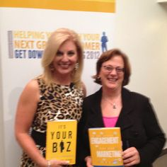 With Constant Contact CEO Gail Goodman kicking off her book on Engagement Marketing at New York Institute of Technology.