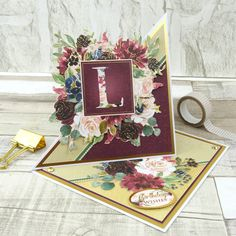 Rosy Reflections Luxury Card Collection Hunkydory Personally Yours