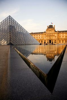 Pyramide and Musee du Louvre. by Russel Mountford --- I've been twice! So much to see.