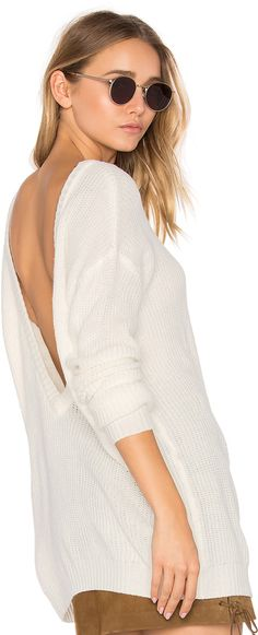 Bobi v-neck cashmere sweater by Revolve Bobi is an LA-based line of dresses and tees made from some of the highest quality jersey at an affordable price.