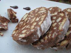 Salame al Cioccolato  (da una ricetta di Maurizio Santin)
