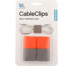 cable clips - would be great for those pesky usb cords