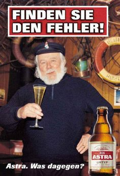 Astra-fehler (Best Ever Funny) Guerilla Marketing, Street Marketing, Creative Advertising, Advertising Campaign, Fc St Pauli, Beer Poster, Great Ads, Brewery, Vintage Posters
