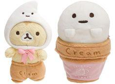 Corocorocoronya plush cat ice cream
