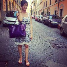 #dress#victoriacoleman, #sandals#ralphlauren, #bag#halaby