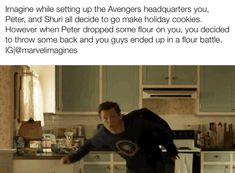 Tom Parker, Tom Holland Peter Parker, Funny Marvel Memes, Marvel Jokes, Text Imagines, Tom Peters, Tom Holland Imagines, Tom Holand, Avengers Imagines