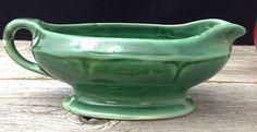 Green USA Pottery Creamer Pottery Succulent Planter Farmhouse