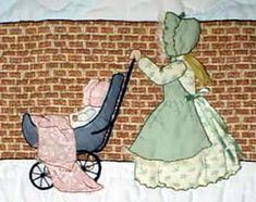 Bonnet Children & Borders Original Quilt Patterns by Helen Scott