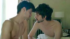 Andrew Leung and Ben Wishaw in the film Lilting