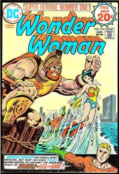 Vintage Comic - Wonder Woman #215