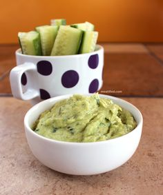 Avocado makes the Artichoke Heart Dip super creamy without needing any kind of dairy. This can be whizzed up in minutes!