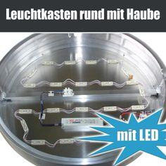 Leuchtkasten einseitig, rund mit Haube 500 x 500 mm, Leuchtkasten, #leuchtkasten, Leuchtreklame, #leuchtreklame, Leuchtwerbung, #leuchtwerbung, vom Fachmann. Direkt beim Hersteller kaufen.