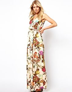 bold floral - Ted Baker -  Maxi dress