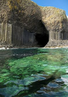 Fingal's Cave is a sea cave on the uninhabited island of Staffa, in the Inner Hebrides of Scotland