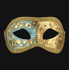 Colombina Mezza - Masquerade Mask