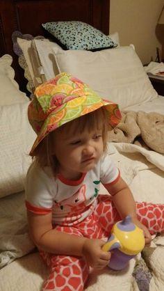 Citrus Summer Hat