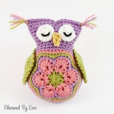 Baby Owl Amigurumi Free Crochet Pattern