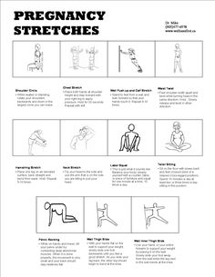 stretches for sciatic pain during pregnancy | Wellness First Family Chiropractic - Wellness Guide to the Five ...