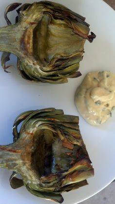 Cooking Is Alchemy: Grilled Artichokes, Herbed Lemon Aioli Dipping Sauce, and The Most Random Week Ever