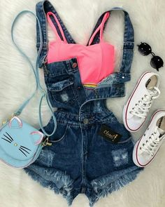 Casual Smart wear for trendy girls Cute Casual Outfits, Swag Outfits, Cute Summer Outfits, Mode Outfits, Stylish Outfits, Outfit Summer, Summer Clothes, Teenage Outfits, Teen Fashion Outfits