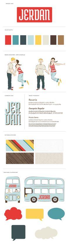 || Jerdan Photography Branding and Identity Design for Small Business :: by BRAIZEN :: via getbraizen.com
