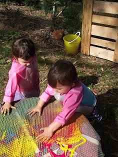 Bubble Wrap Finger Painting Outdoor Fun For Kids Activities Play
