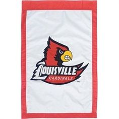 University of Louisville Cardinals Double Sided Applique Flag