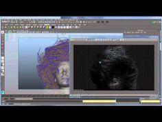 v ray 30 for maya rendering hair youtube