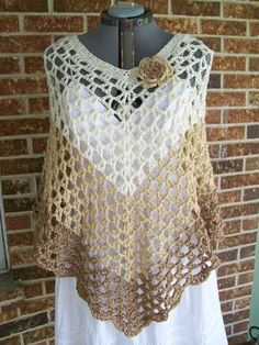 Hey, I found this really awesome Etsy listing at https://www.etsy.com/listing/190512983/plus-size-crochet-poncho-cover-up-shawl