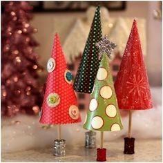 Paper Pattern Christmas Tree