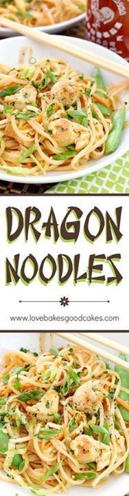 Spice up dinner with Spice up dinner with these fiery and...  Spice up dinner with Spice up dinner with these fiery and delicious Dragon Noodles! This quick and easy recipe will have you in and out of the kitchen in no time! Recipe : http://ift.tt/1hGiZgA And @ItsNutella  http://ift.tt/2v8iUYW