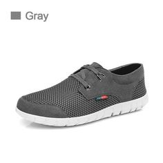 cf269f2f8869 2018 Men s Casual Shoes Fashion Sneakers Brand Summer Breathable Leather  Mesh Lace up