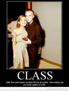 Classy Tom..very classy