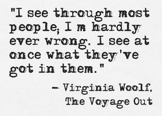 Virginia Woolf, The Voyage Out
