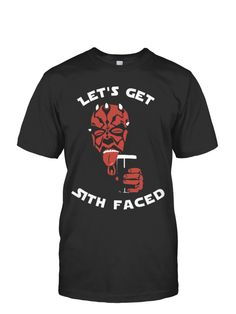 Limited Edition - Let's Get Sith Faced   TeeChip