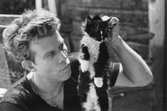 Tom Waits Mystery Men | MARCH 1ST PLAYLIST FEATURING PICTURES OF ROCK STARS WITH CATS
