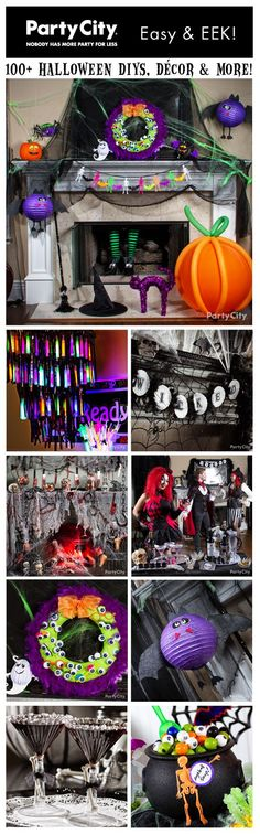 A cauldron-ful of Halloween party ideas! Halloween decorating ideas & DIYs, wicked-good cocktails and TERROR-ific treats. Click to browse our galleries!