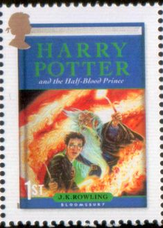 Harry Potter and the Half Blood Prince - Literary Stamps: Rowling, J.K. (b. 1965)