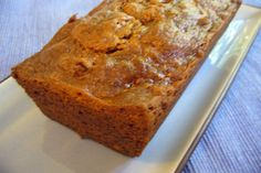 Very easy persimmon bread. However I didnt add allspice and I sprinkled cinnamon over the badder while it baked!