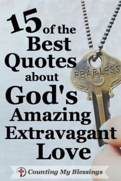 My friend, you are cared for and loved more than you know by the one and only, perfect, sovereign God of the universe . . . that is amazing extravagant love.