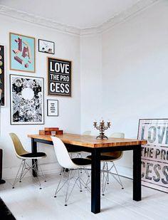 INSPIRACIÓN DECO: Un pequeño apartamento lleno de ideas